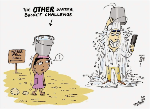 The Other Water Bucket Challenge